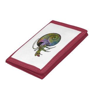 Hermit Crab Trifold Wallet