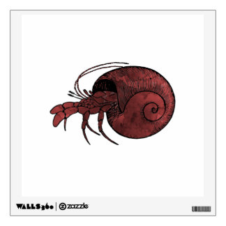Hermit Crab Wall Decal