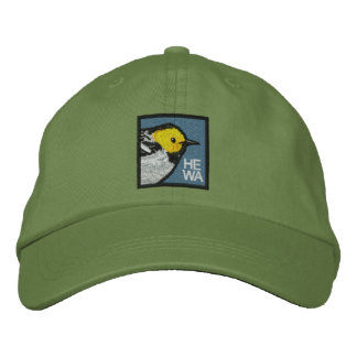 Hermit Warbler (non-distressed) Embroidered Hat