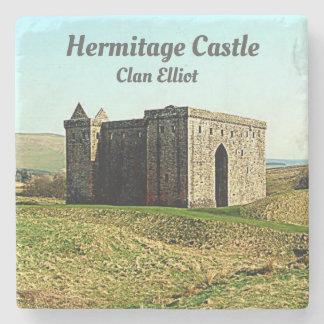 Hermitage Castle –  Clan Elliot Stone Coaster
