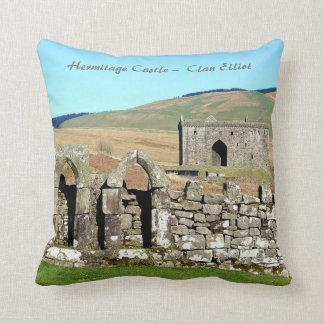 Hermitage Castle –  Clan Elliot Throw Pillow