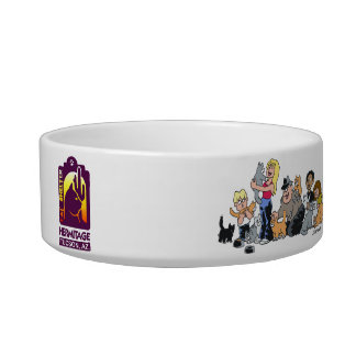 Hermitage-Crazy for Cats- Cat bowl