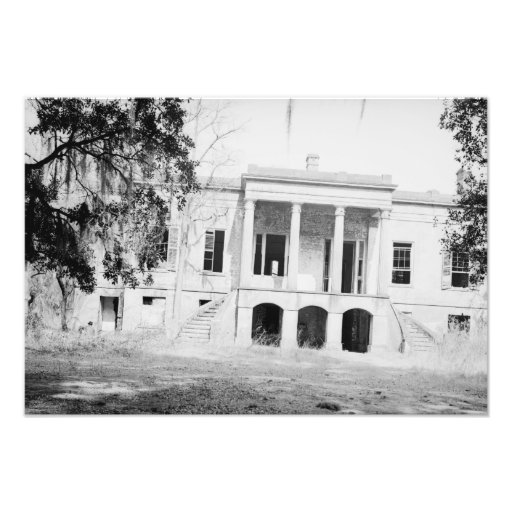 Hermitage Plantation Savannah Georgia Photo Print