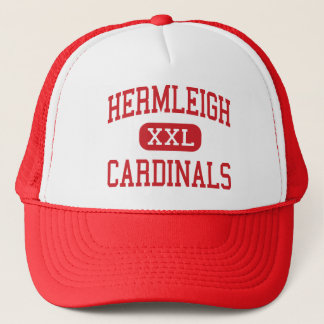 Hermleigh - Cardinals - High - Hermleigh Texas Trucker Hat