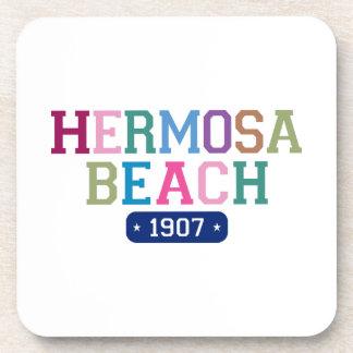 Hermosa Beach 1907 Drink Coasters