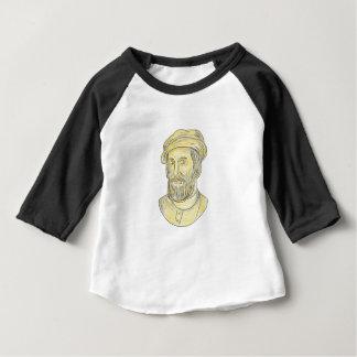 Hernan Cortes de Monroy Drawing Baby T-Shirt