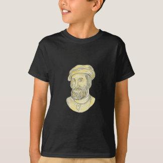 Hernan Cortes de Monroy Drawing T-Shirt
