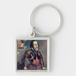 Hernando Cortes Keychain