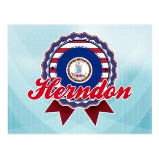Herndon, VA Postcard