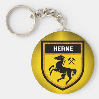 Herne Flag Keychain