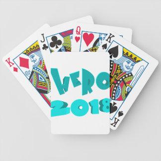 Hero 2018 bicycle playing cards