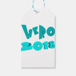 Hero 2018 gift tags