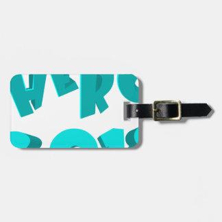 Hero 2018 luggage tag