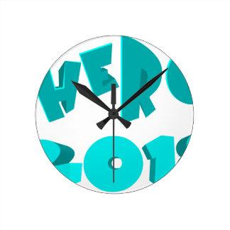Hero 2018 round clock