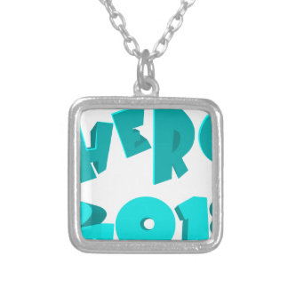 Hero 2018 silver plated necklace