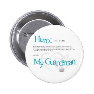 Hero 2 Inch Round Button
