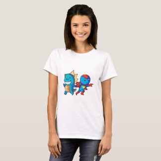 Hero and Dino!! T-Shirt