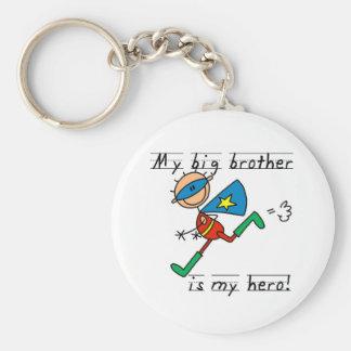 Hero Big Brother Tshirts and Gifts Keychain