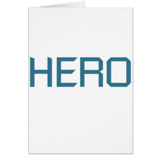 Hero (blue edition) card