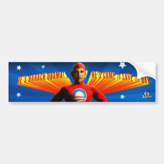 Hero - Bumper Sitcker Bumper Sticker