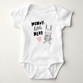 Hero bunny baby bodysuit