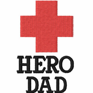 Hero Dad with First Aid Cross