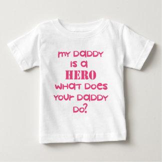 HERO-DADDY-PINK BABY T-Shirt