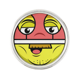 Hero Face Lapel Pin
