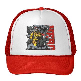 HERO Firefighter Mesh Hats