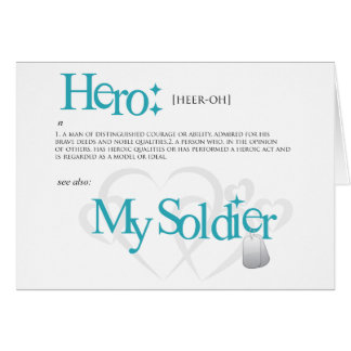 Hero: My Soldier Card