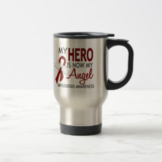 Hero Now My Angel Amyloidosis Travel Mug