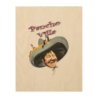 Hero Pancho Villa Wood Canvases