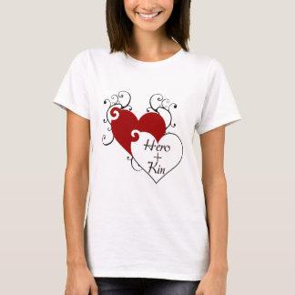 Hero Plus Kin Heart Swirls Fair Hero Series T-Shirt