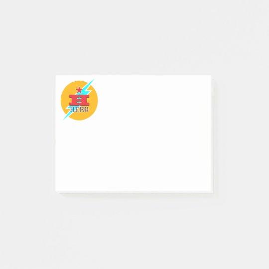 Hero Post-it® Notes
