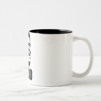 Hero Reagan Two-Tone Coffee Mug