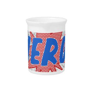 Hero star design pitcher