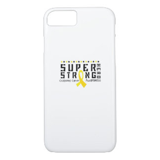 Hero Strong Childhood Cancer Awareness support iPhone 8/7 Case