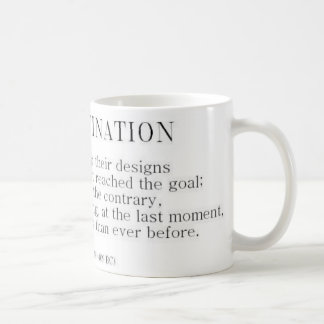 Herodotus on Procrastination Coffee Mug
