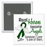 Heroes Become Angels Liver Cancer 2 Inch Square Button