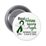 Heroes Become Angels Liver Disease 2 Inch Round Button