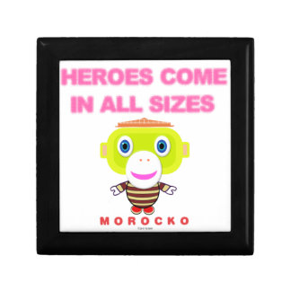 Heroes Come In All Sizes-Cute Monkey-Morocko Gift Box
