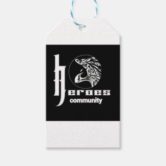 Heroes community gift tags