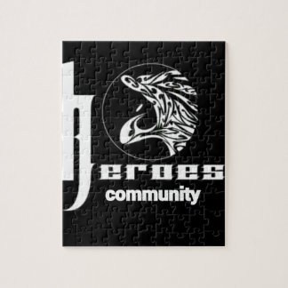 Heroes community jigsaw puzzle
