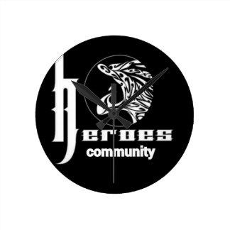 Heroes community round clock