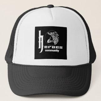 Heroes community trucker hat