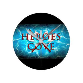 Heroes Cove Wall Clock