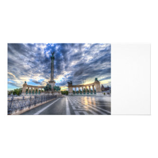 Heroes Square Budapest Hungary Card