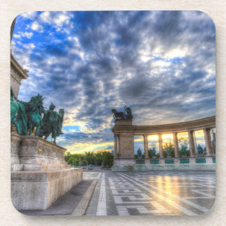 Heroes Square Budapest Hungary Coaster