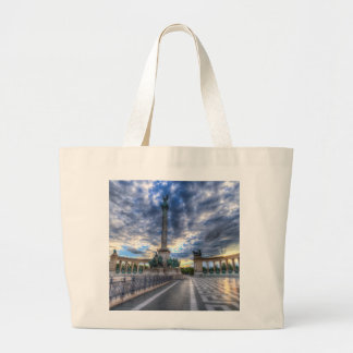 Heroes Square Budapest Hungary Large Tote Bag