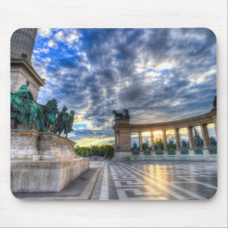 Heroes Square Budapest Hungary Mouse Pad